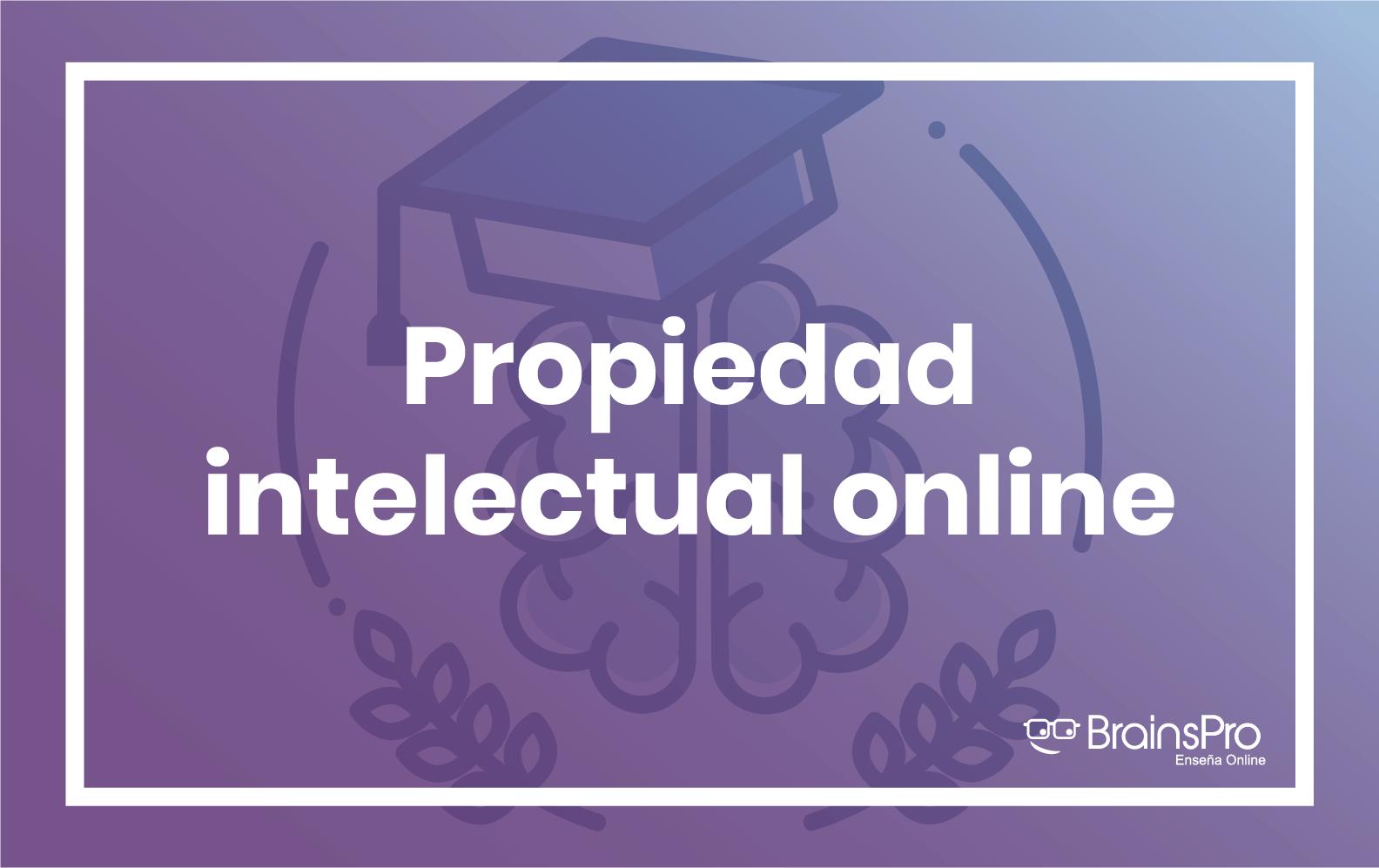 Propiedad intelectual online