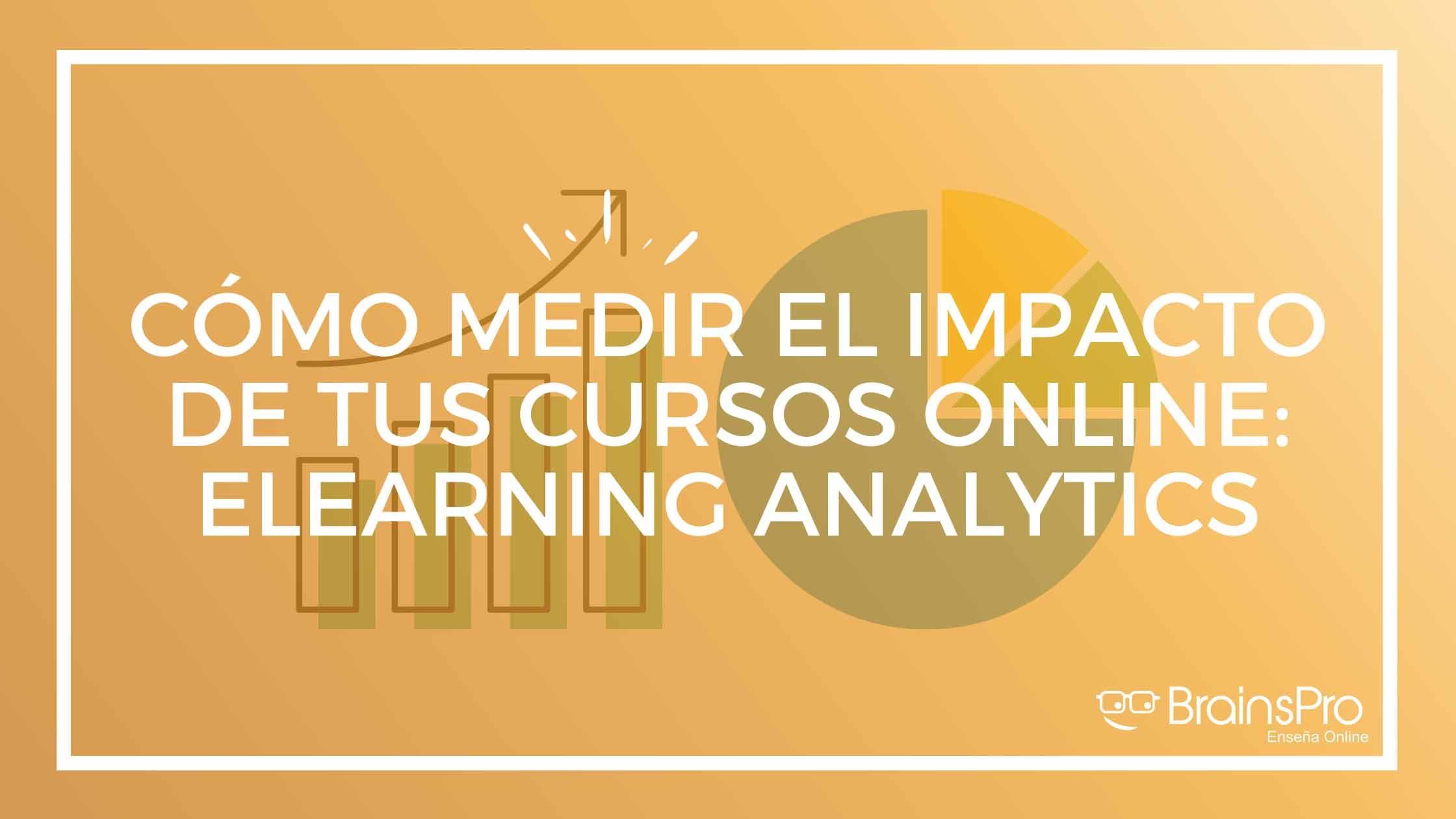 Aprender a medir el impacto de tus cursos online