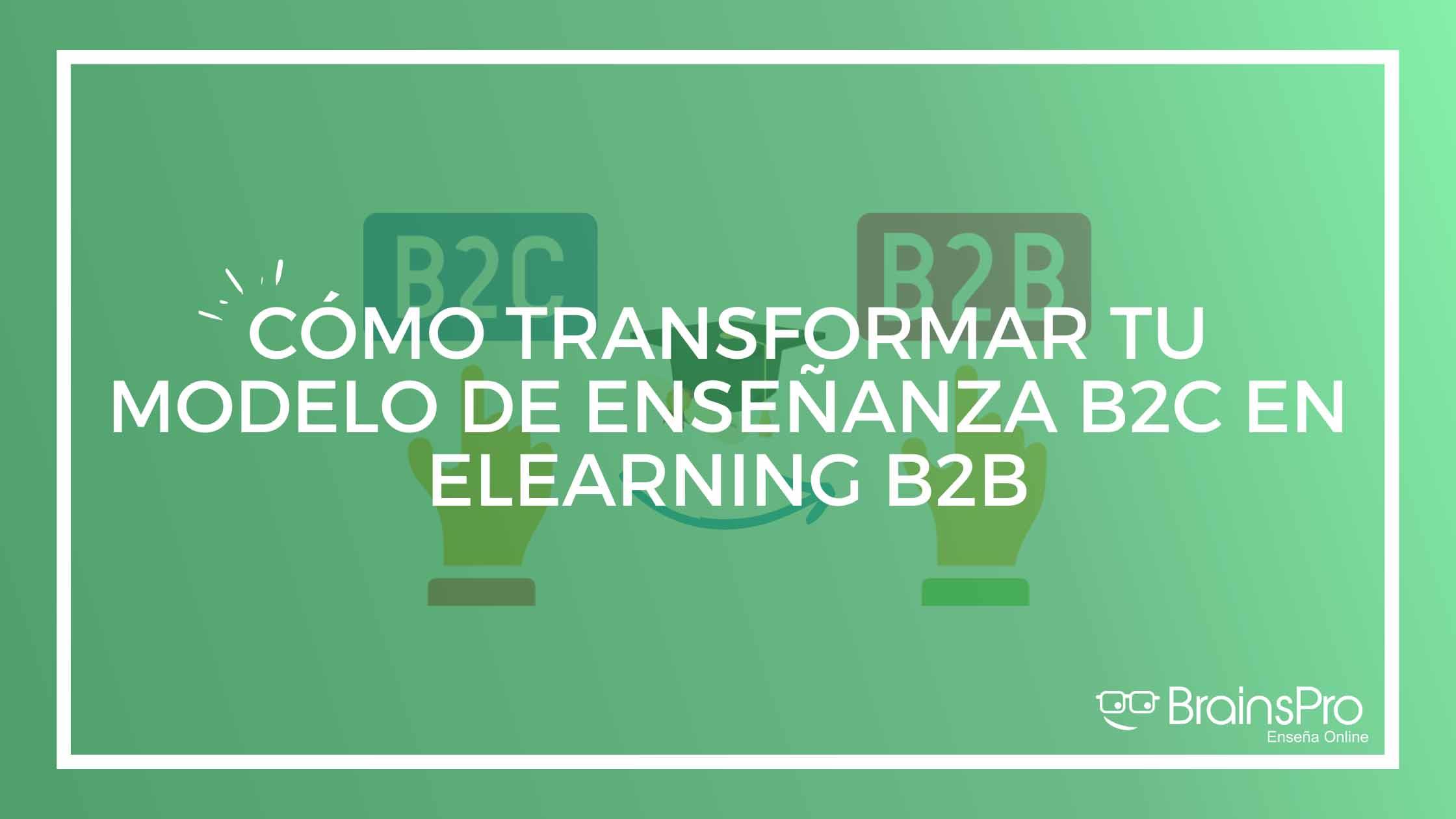 Qué es el elearning B2B